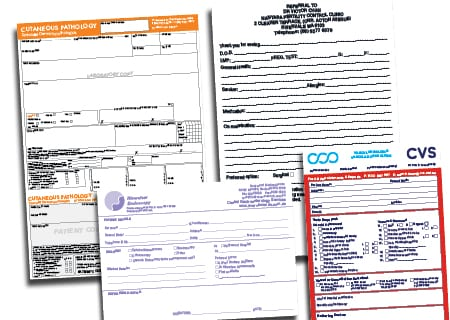 Medical Forms and Script Folders