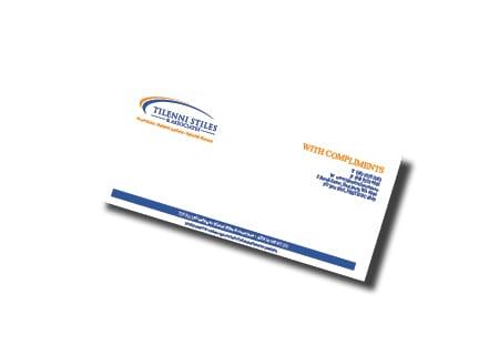 Tilenni Stiles & Associates Business Card Design - A Team Printing Perth digital print services printing services Perth printing Perth