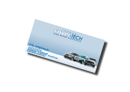 Jordan Rover-Tech Business Card Design - digital print services printing services Perth printing Perth