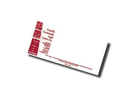 gosnells community legal centre calling card design - A Team Printing Perth digital print services printing services Perth printing Perth