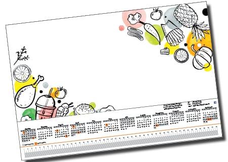 Calendar Design - A Team Printing Perth digital print services printing services Perth printing Perth printing companies Perth commercial printers high quality printing