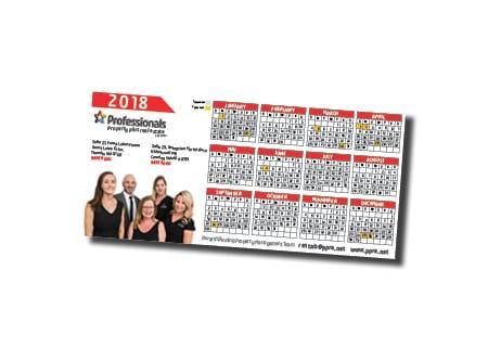 Professionals Property Plus Real Estate Calendar Design - A Team Printing Perth digital print services printing services Perth printing Perth