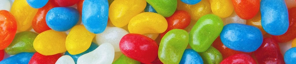 coloured candies