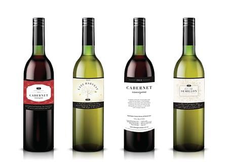 Wine Label Design - A Team Printing Perth