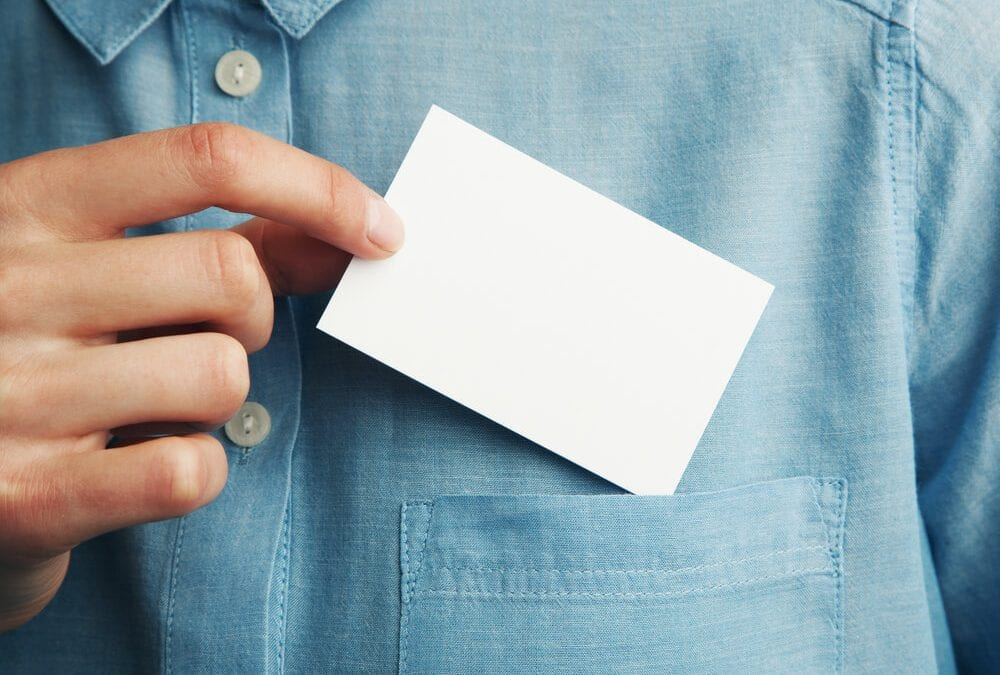 Are Business Cards Old News?